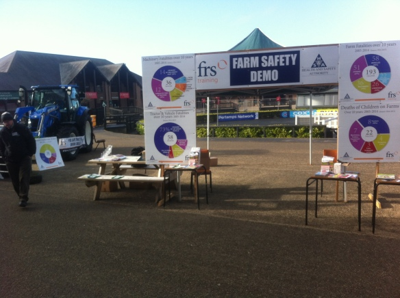 FRS and HSA Farm Safety Demo area